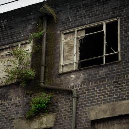 Derelict Factory, Liverpool