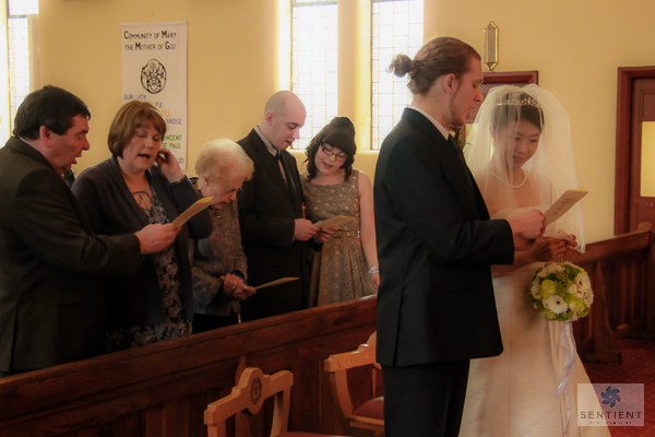 Congregation Singing Hymn