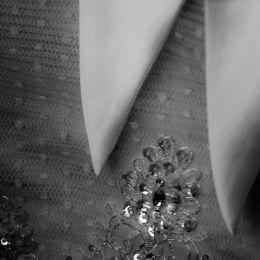 Wedding Dress Close-up Detail