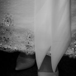 Wedding Dress Hem & Shoes