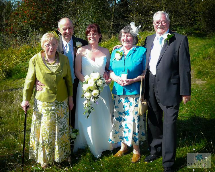 Bride, Groom & Parents