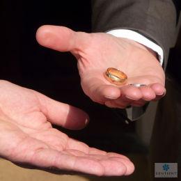 Handover Of The Wedding Rings