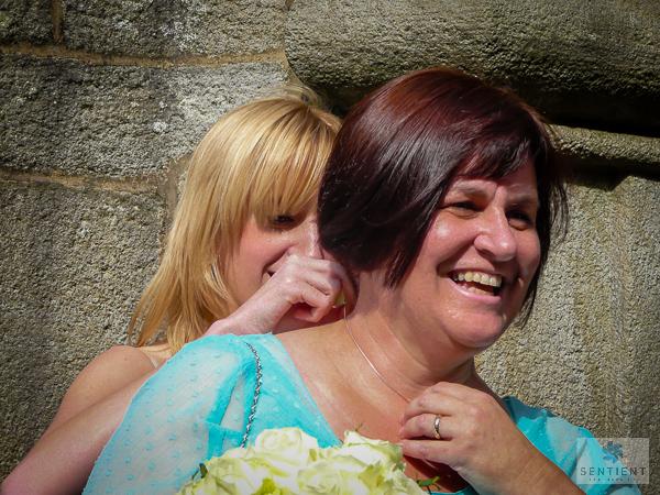 Bridesmaids Necklace Fastening