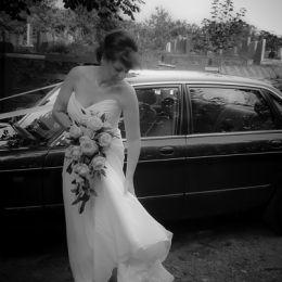 Bride's Wedding Dress Adjustment