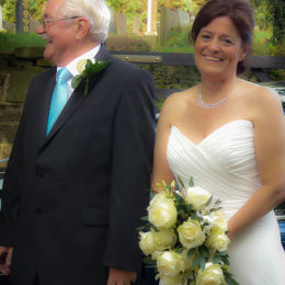 Bride & Father, Nearly Ready