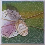 Leaf Birthday Card