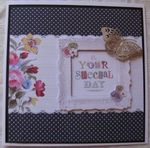 Butterfly Frame - Greeting Card