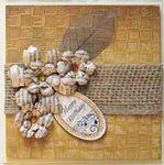 Basket Weave Birthday card