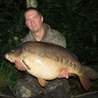 Rob with a NW 27lb Mirror
