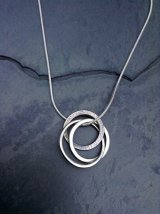 Triple ring pendant £45