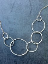Asymetric silver chain