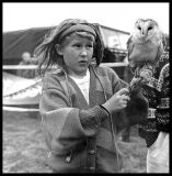 Gypsy Girl & Barn Owl