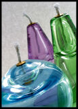 Coloured Glass Lamps
