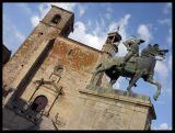 Pizarro's Statue
