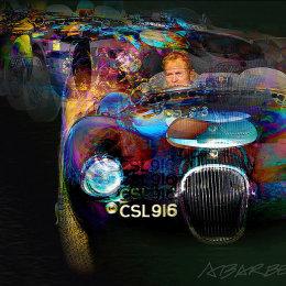 Jaguar C Type CSL 916