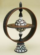 'Gyroscope' - Height approx: 36 cm