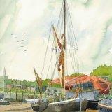 Thames Barge Faversham