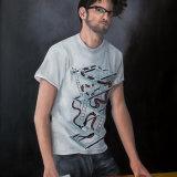 Robert:  oil on canvas,  100 x 76 cm