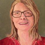 Susannah:  acrylic on canvas board,  20 x 15 cm