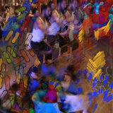 Dancers @ Dulwich iii:  iPhone photo, adobe sketch, photoshop