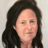 Myrna:  oil on canvas,  25 x 35 cm