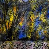 Imagined Landscape:  acrylic on canvas,  150 x 120 cm