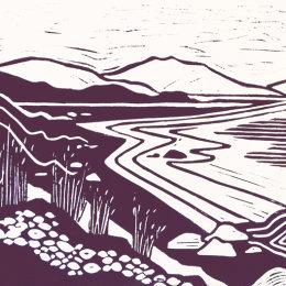 Sipness Lino Print