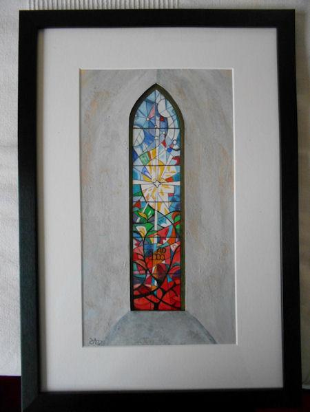 Millenium Window, Felmersham