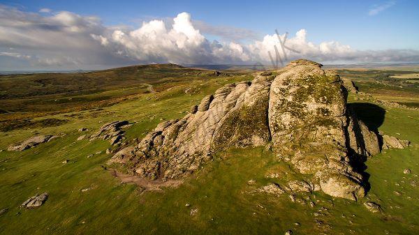 Aerial Dartmoor Hay Tor 0143