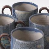 Microblue cups