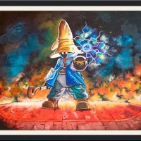 Vivi the Black Mage, a gift to my son who is a Final Fantasy fan