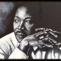 Martin Luther King 16 x 12