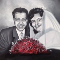 My parents, for their Ruby Wedding,