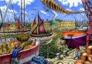 Dockland scene