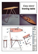 Ironing table - 1/4 scale working prototype