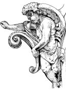 The angel - architectural detail