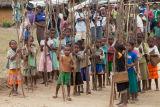 Madagascar Schoolchildren Tsianivoha