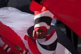 Notting Hill Carnival Flag Girl