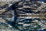 Bolivia Andes Lake Reflection