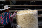 Bolivia Popcorn Seller