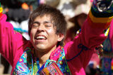 Bolivia La Paz Carnival Man