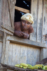 Madagascar Banana Seller