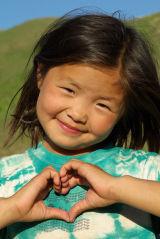 Mongolia Heart Girl