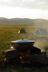 Mongolia Wok Camp Cooking
