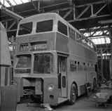Midland Red D10 Mk II 4944 under construction at Central Works