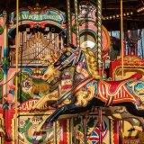 Steam Organ and Horses