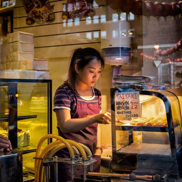Chinatown Taiyaki Girl