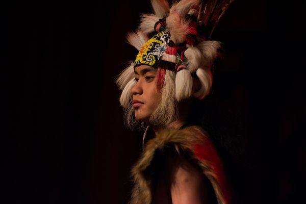Orang Ulu Warrior