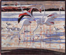 Flamingos and Avocets £95 unframed