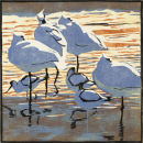 Spoonbills and Avocets £95 EDITION SOLD OUT
